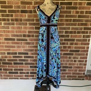 Like new INC asymmetrical maxi dress